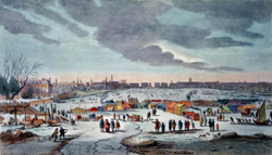 1683-84 Frost Fair on the River Thames