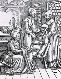 Childbirth in the 16th/17th Century