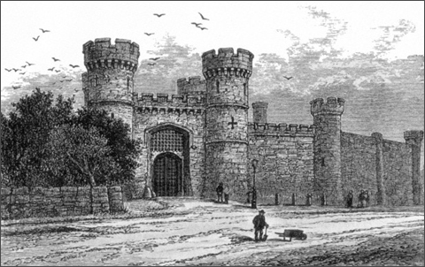 Sarah Shellaker was imprisoned in Welford Road Gaol in 1855