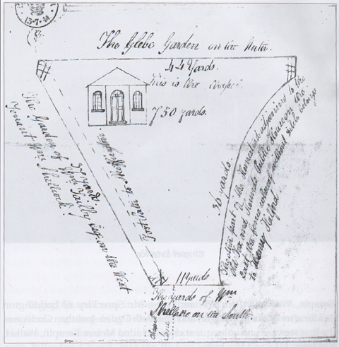 Tugby Chapel Plan - 1844