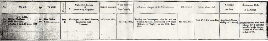 William & Sarah Charge Sheet-1200